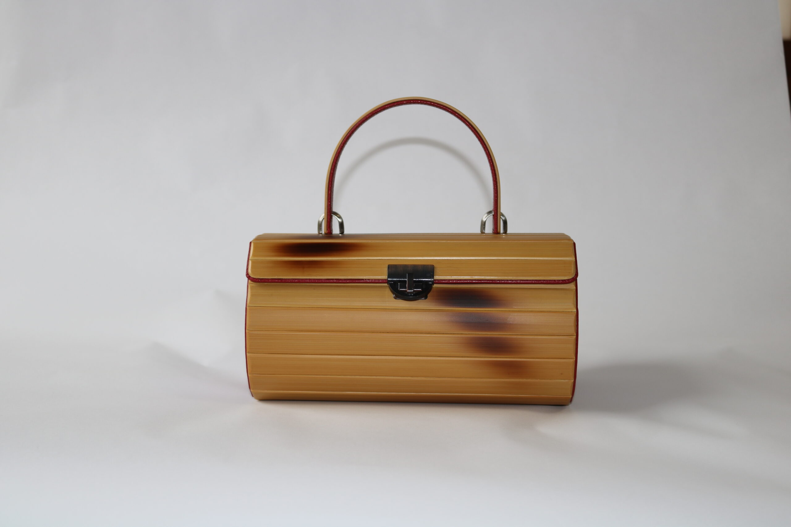 Round Handbag Simple Bamboo