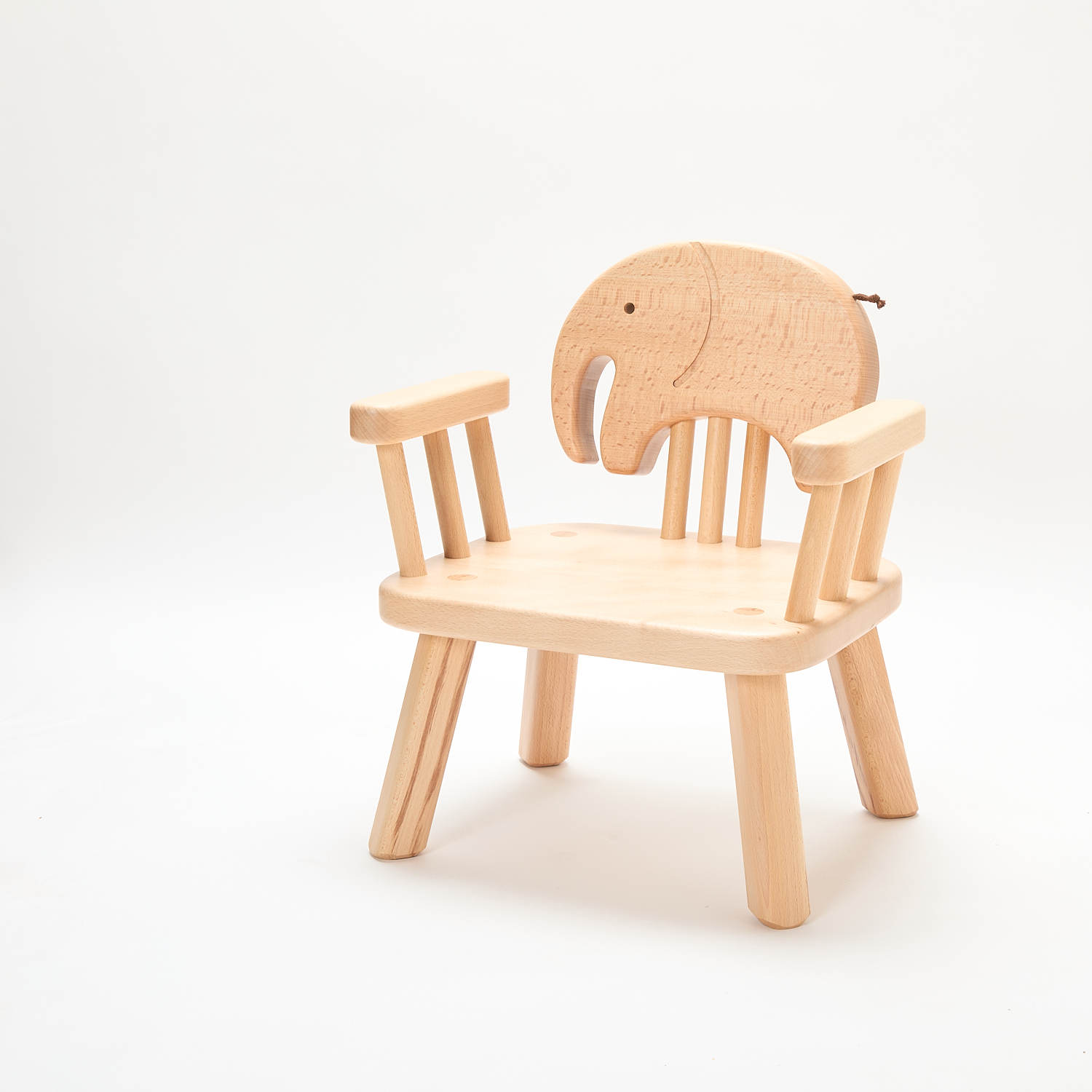 Child-sized Animal Chair with Armrests